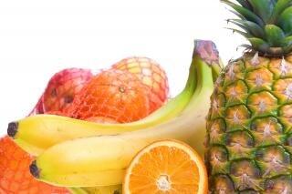 Frutas montón mixto
