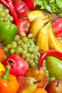frutas plátanos
