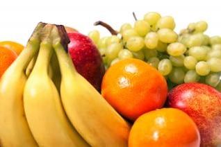 frutas uvas