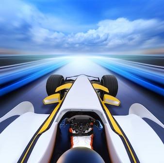 Fuego rápido Ferrari velocidad del coche
