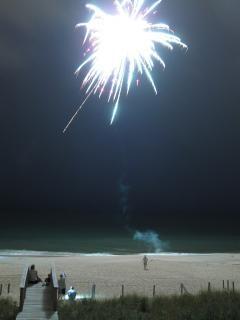 Fuegos artificiales, el verano, la celebración
