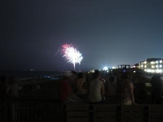 Fuegos artificiales, fiesta, cuarto, julio, los fuegos artificiales