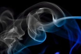 fuma aromaterapia aroma abstracto color de fondo