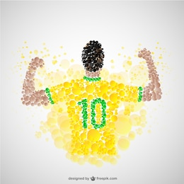 Futbolista victorioso