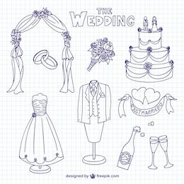 Garabatos de boda