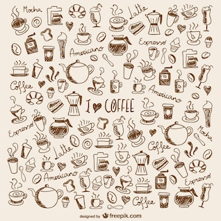 Garabatos de café