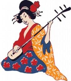 geishas shamisen jugar