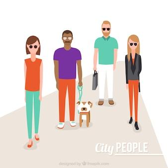 Gente de ciudad