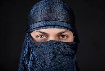 Gente hombre ojos culturales árabe