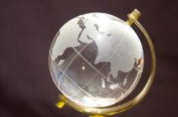 globo de cristal, transparente