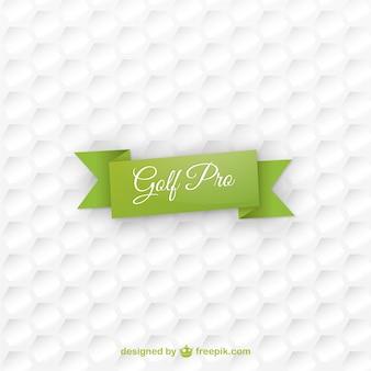 Textura de fondo de pelota de golf