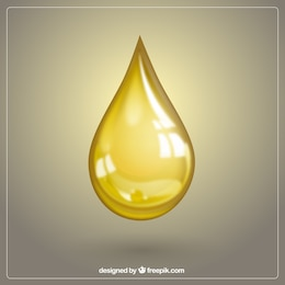 Gota de aceite de oliva