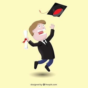 Persona en graduación