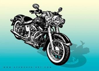 gráficos vectoriales de motocicletas