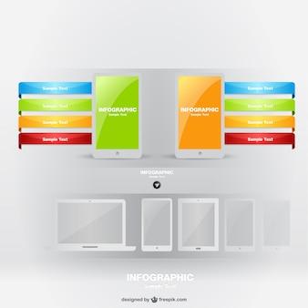 Diseño de infografía para smartphone