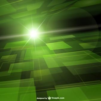 Fondo verde techno