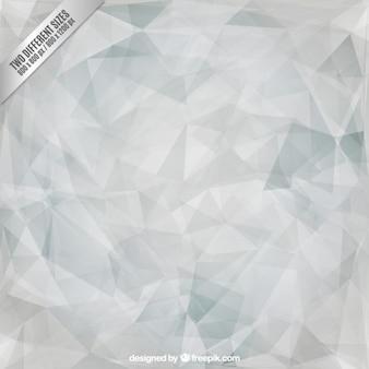 Fondo gris de triángulos poligonales