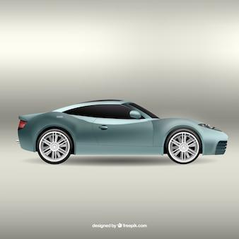 Gris sport car