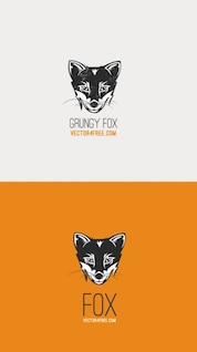 Grunge zorro vector logo