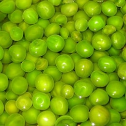 guisantes verdes, al azar
