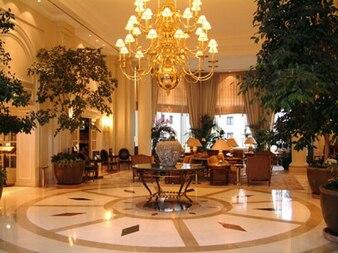 Hall de entrada magnífico hotel de material de imagen