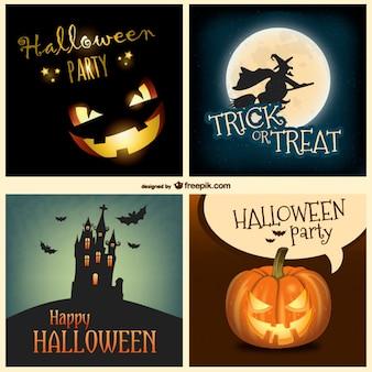 Halloween Colección de fondos