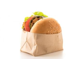 Hamburguesa de pollo grill
