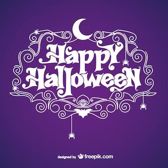 Fondo de Halloween con luna