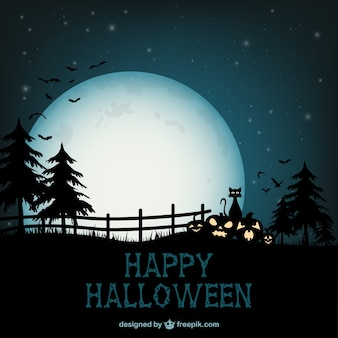 Fondo de feliz Halloween