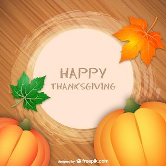Vector feliz Acción de Gracias