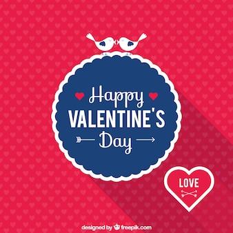 Tarjeta Feliz Día de San Valentín