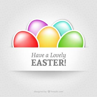 Tienen un precioso Pascua