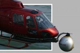 helicóptero fuera de los límites