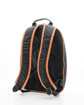 Hermosa mochila en blanco