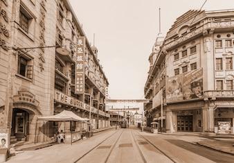 Hermosa vista de la ciudad vieja
