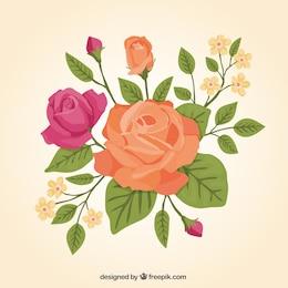 Hermosas rosas