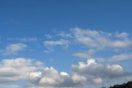 hermoso cielo de fondo