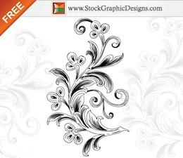 Hermosos arreglos florales vectoriales sin Ilustraciones