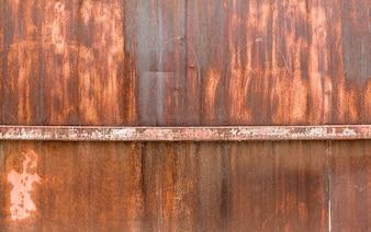 Hierro oxidado de la vendimia con textura de fondo
