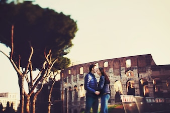 Historia arco turista unión italiano