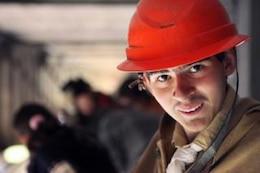 hombre de profesión casco