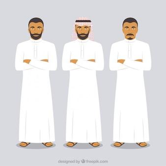 Hombres árabes