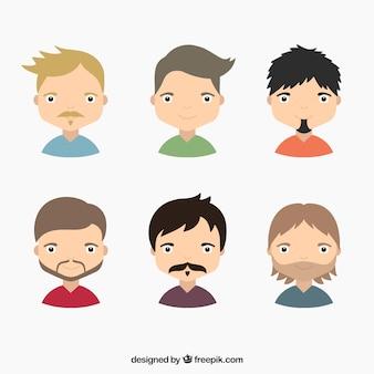 hombres ilustración