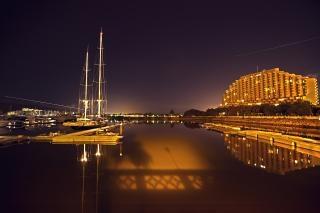Hong Kong, Costa de Oro en la noche