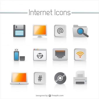 Electrodomésticos iconos vectoriales