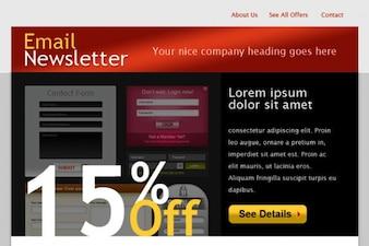 html plantilla de correo electrónico