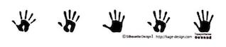 Huella de la mano 2