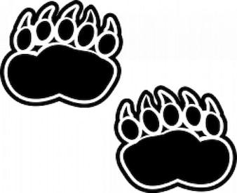 huellas de oso