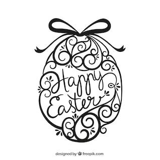 Huevo de Pascua Ornamental