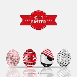 Huevos de Pascua en estilo pirata